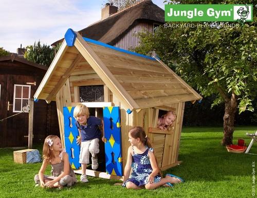 אדיר Crazy Playhouse: בית עץ לילדים על הקרקע JUNGLE GYM - JUNGLE GYM RD-45