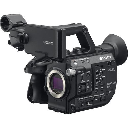מבריק מצלמת וידאו Sony PXW-FS5 Mark II - גוף בלבד KA-29