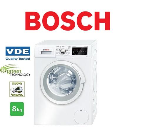 מעולה  מכונת כביסה Bosch WAN2427TPL בוש - Bosch - מכונות כביסה LI-21