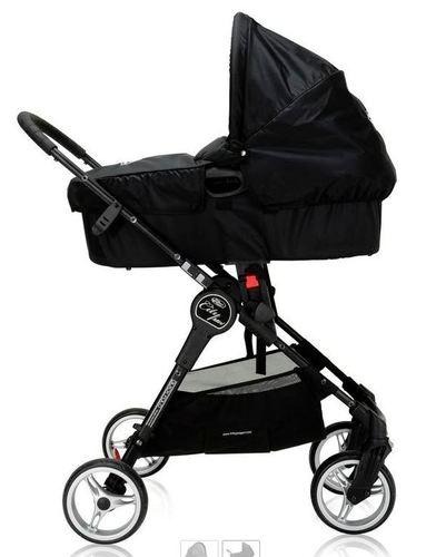 תוספת עגלת תינוק City Mini בעלת 3 גלגלים - כסוף בייבי ג'וגר - Baby SQ-51