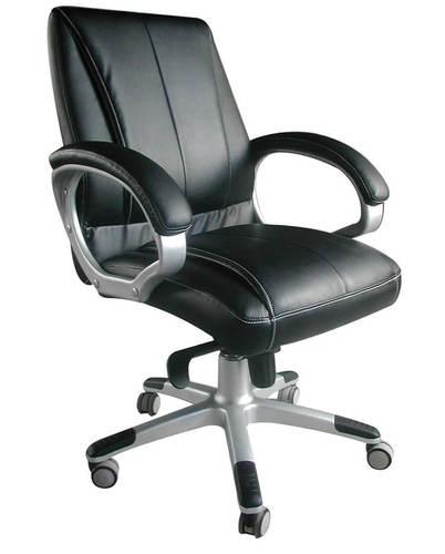 הגדול כסא מנהלים אורטופדי ומפואר מעור PU עם רגלי אלומינים דגם ספידו נמוך XF-71