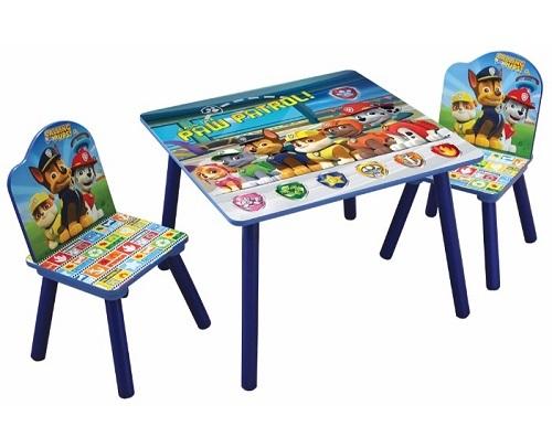 צעיר שולחן וכסאות עץ לילד של מפרץ ההרפתקאות IB-69