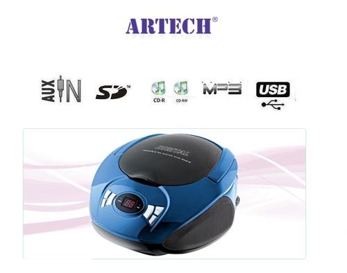 מדהים מערכת שמע ניידת Artech CD3713UC ארטק - Artech - מערכות שמע ניידות DP-92