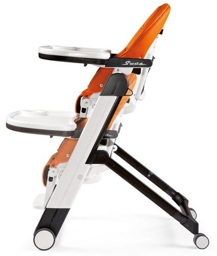 כסא אוכל סיאסטה Siesta עם השכבה מלאה בריפוד דמוי עור LICORICE