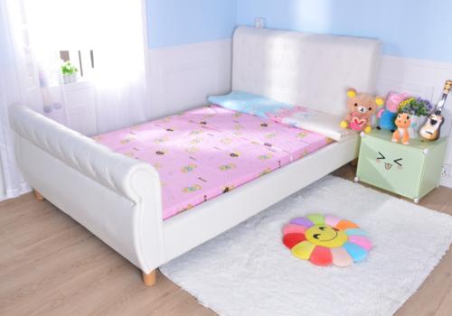 מתוחכם מיטה וחצי / מיטת נוער - דגם נסיכה צבע שמנת בשילוב כפתורי קפיטונאז TN-75