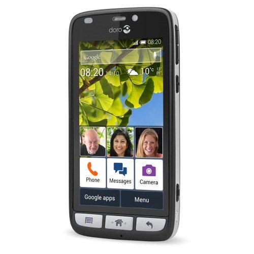 פנטסטי Doro Liberto 820 טלפון למבוגרים   סמארטפון למבוגרים   טלפון עם UF-65
