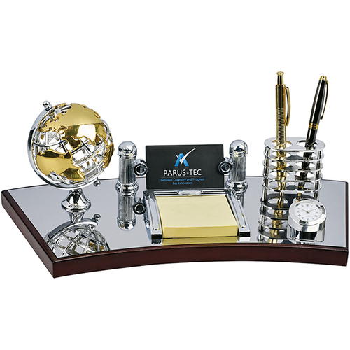 צעיר מעמד שולחני מפואר למשרד Gold - מתנה לגבר HV-89