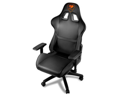 מדהים COUGAR Armor Gaming Chair כיסא מקצועי לגיימרים שחור - - ג'ויסטיקים XC-24