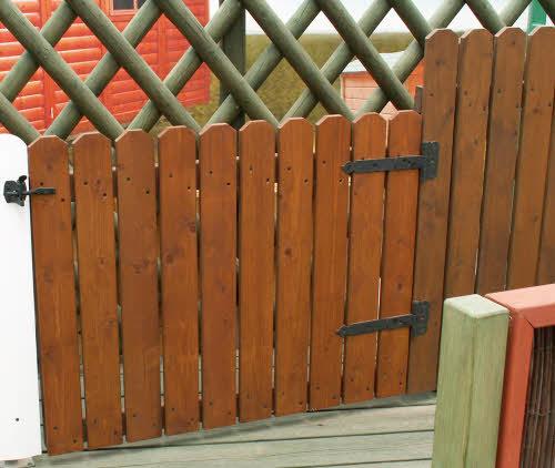 סופר גדר עץ לגינה - שלבים אנכיים - עשה זאת בעצמך, הרכבה עצמית LD-15