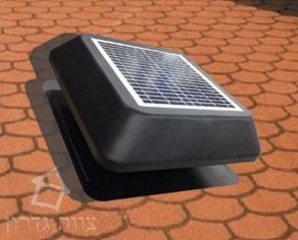 משהו רציני מפוח סולארי|FB15C| מפוח לגג רעפים|קירור הבית ולחסוך בחשמל|צוות גדרון PS-53
