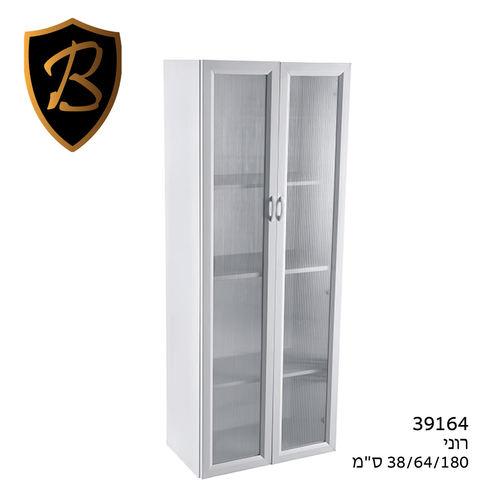 כולם חדשים ארון רוני 2 דלתות שקוף B FRESH 39164 פלנרו - Planero - מחסנים ZP-67