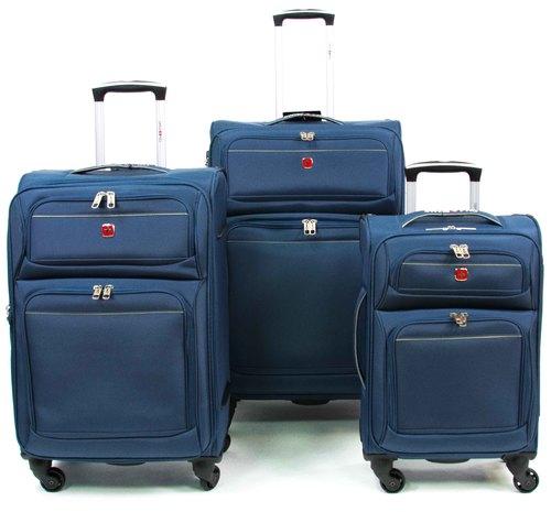 מאוד סט מזוודות 3 חלקים SWISS PRO IX-74