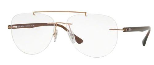 מודרניסטית משקפי ראיה Ray Ban 0RX8749 1131 לגברים - Ziplens HG-08