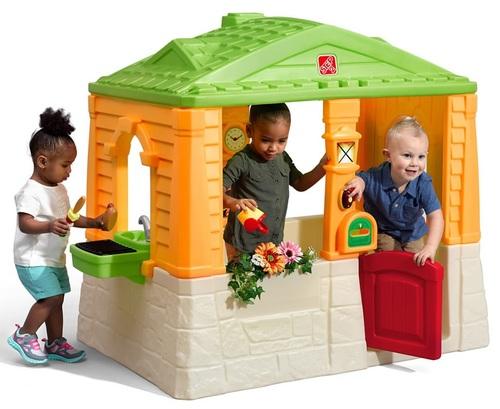 מודיעין בית משחק לילדים ארבע העונות עם גריל ומטבח צבעוני 880500 STEP2 WD-82