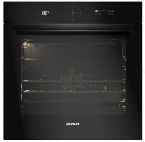 הגדול תנור בנוי פירוליטי טאצ' 73 ליטר Brandt BXP6555B צבע שחור ברנדט YR-66