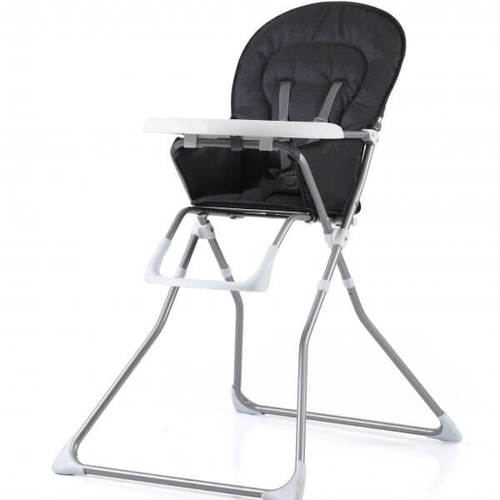 מתוחכם כסא אוכל גב קבוע BAMBINI אפור אלגנט | כסאות אוכל | מוצרי תינוקות TJ-44