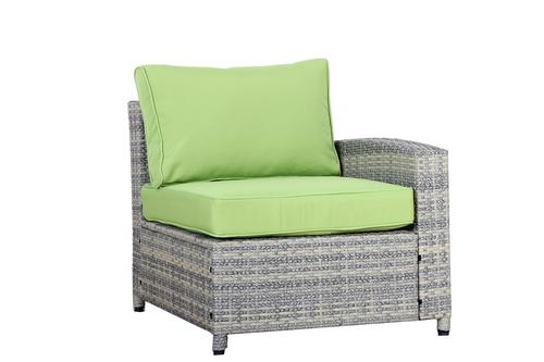 BroyerK 7 Piece Grey Outdoor Rattan Sofa Set With Storage Box : BroyerK
