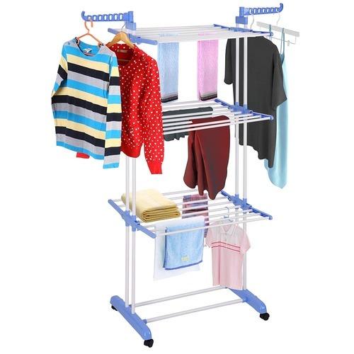 אדיר מתלה כביסה מתקפל וחסכוני במקום, לייבוש הכביסה ולתליית הבגדים. יציב UA-01