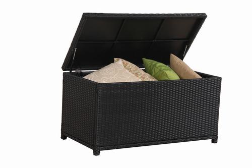 Rattan Storage Cushion Box Storage Box