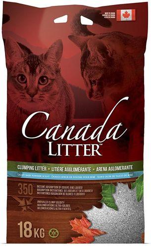מדהים קנדה ליטר - Canada Litter - חול לחתולים - מתגבש בניחוח טלק - 18 ק TD-45