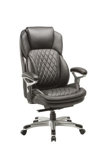 מסודר כיסא מנהלים מעור מנגנון סופר סינכרוני ידיות מתכווננות ומרופדות דגם זאב NJ-42