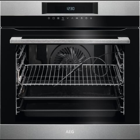 עדכון מעודכן תנור בנוי פירוליטי 60 AEG דגם: BPK264232M NB-07