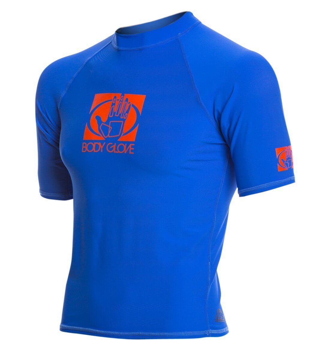 אדיר חולצת לייקרה שרוול קצר לגברים BASIC BODY GLOVE - - חולצות לייקרה UVP NF-97