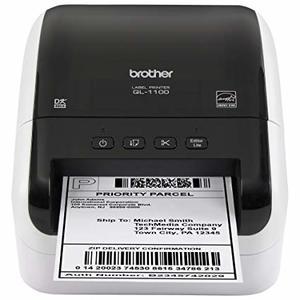 הוראות חדשות מדפסת מדבקות Brother QL-1100 - brother - מדפסת מדבקות VA-16