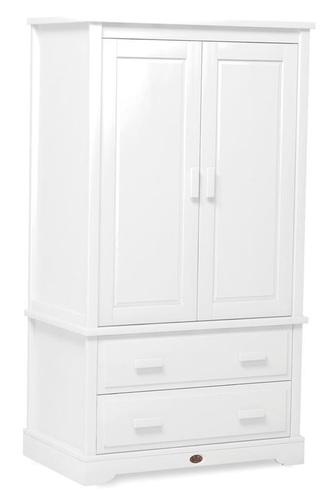 תוספת ארון 2 דלתות לחדר ילדים מעוצב Eton מעץ מלא - לבן Boori - Boori FB-03