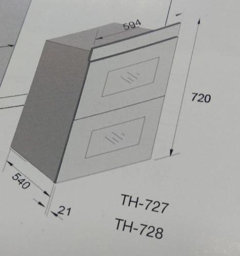 מותג חדש תנור בילד אין SOL TH-828 מידות מיוחדות!!! סול - Sol - תנורי אפיה XF-38