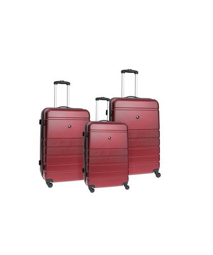 מיוחדים SWISS BRIEF סט מזוודות קשיחות 28″ 24″ 20″ BRINX - SWISS - סט 3 מזוודות CP-57
