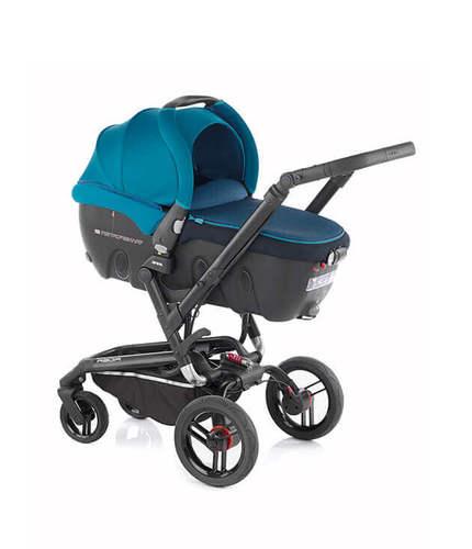עדכני עגלה משולבת ריידר Rider בטורקיז Jane - Jane - עגלת תינוק מלידה HW-31