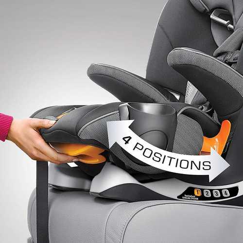 כס� בטיחות �שו�ב בוסטר �יי פיט MyFit ע� 4 �צבי שכיבה/ישיבה בצבע Lani