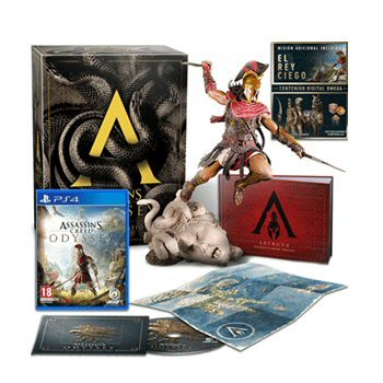 Ps4 Assassin S Creed Odyssey Medusa Edition