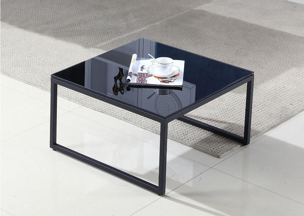 מעולה  שולחן סלון מרובע מזכוכית דגם A 880 שחור SLEEPNET - SLEEPNET RN-42