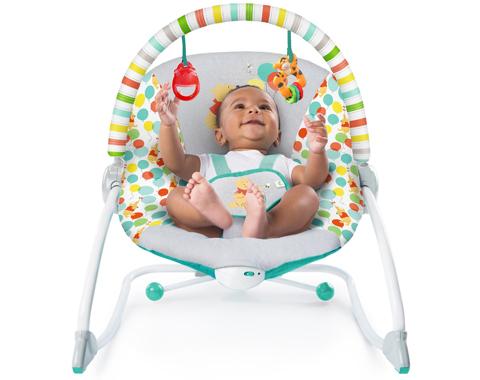 מדהים טרמפולינה רוקר פו הדב | טרמפולינות ונדנדות | מוצרי תינוקות | מוצצים SN-34