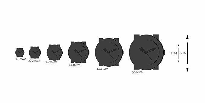 מידות שעונים לפי קןטר