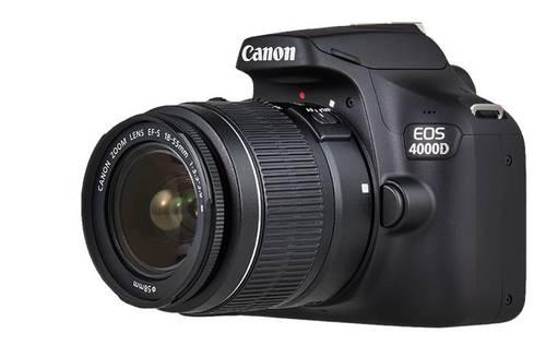 ענק Canon EOS 4000D +18-55III-קרט קנון - Canon - מצלמות DSLR KI-16