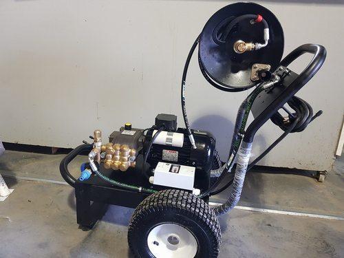 פנטסטי מכונה לפתיחת סתימות בלחץ מים 200 באר 12 לד דנא | ד.נ.א. כלי עבודה LE-63