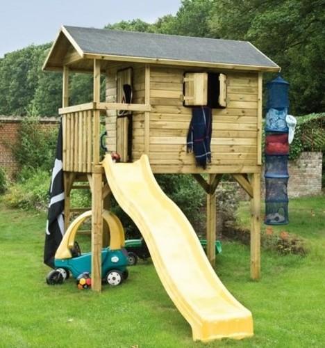 טוב מאוד בית משחק עץ לילדים פארק הלחישות טווידקו 1.2/2.4 על עמודים Wistler MQ-92