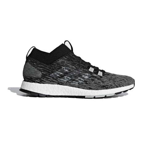 מצטיין נעלי ריצה גברים צבע אפור ושחור עם טקסטוקרה אדידס - ADIDAS FK-41
