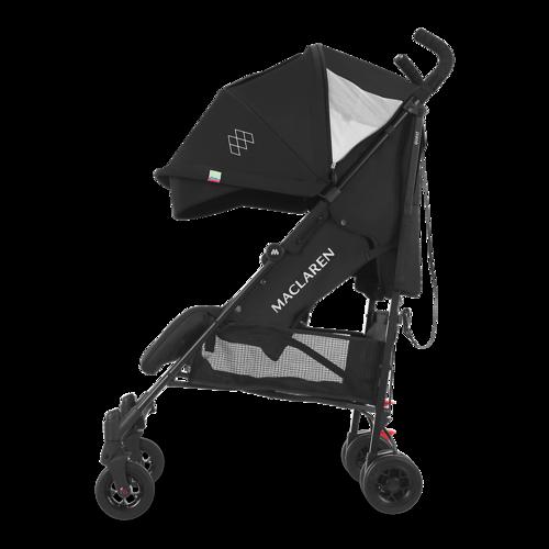 טיולון לתינוק קווסט 2019 עם גגון מורחב ומערכת נסיעה חדשה - שחור