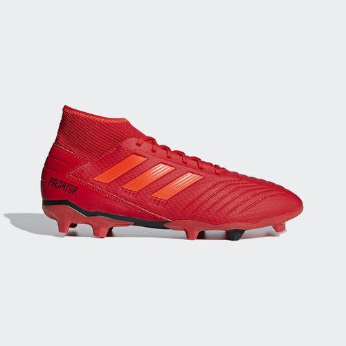 מקורי אדידס נעלי כדורגל-PREDATOR 19.3 FIRM GROUND BOOTS-BB9334-כתומות AW-18