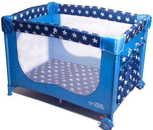 למעלה לול קמפינג כוכבים כחול סופר בייבי - Super baby - לול לתינוק UG-22