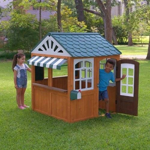 בנפט בית משחק לילדים מעץ חלום בגן SG-79