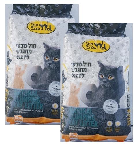 מדהים חול מתגבש לחתולים MySand במבצע! 2 ב129 מיי סנד - MY SAND - חול לחתולים QM-71
