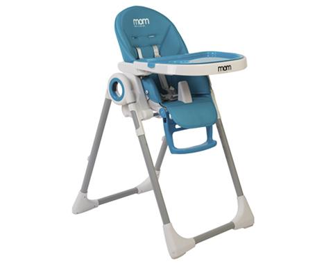 מתקדם כסא אוכל MOM כחול | כסאות אוכל | מוצרי תינוקות | מוצצים SI-27