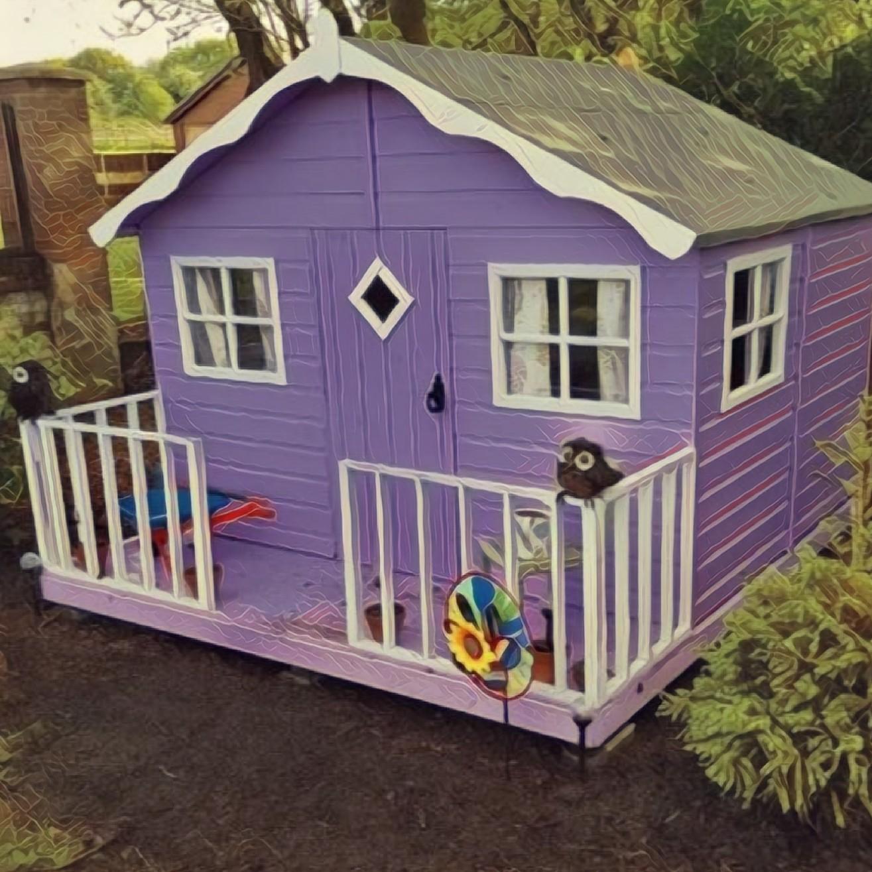 אולטרה מידי בית עץ לילדים מחיר - Garden Experts RL-94