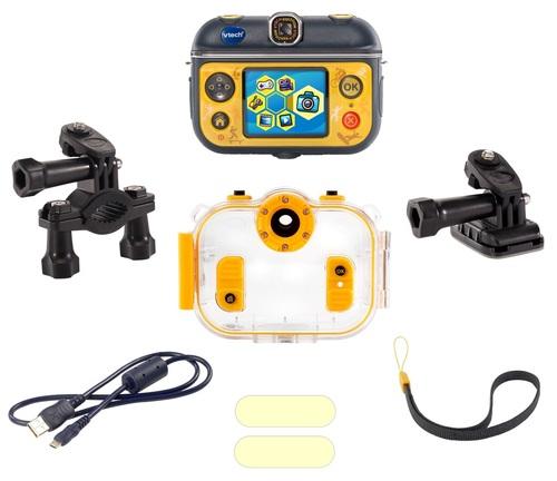 מצלמת וידיאו אקשן לילדים Kidizoom Action Cam 180 עם עדשה מתהפכת