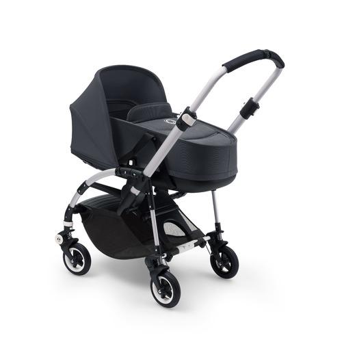 האופנה האופנתית עגלה משולבת בוגבו בי 5 Steel Blue - Bugaboo - עגלת תינוק מלידה YD-05
